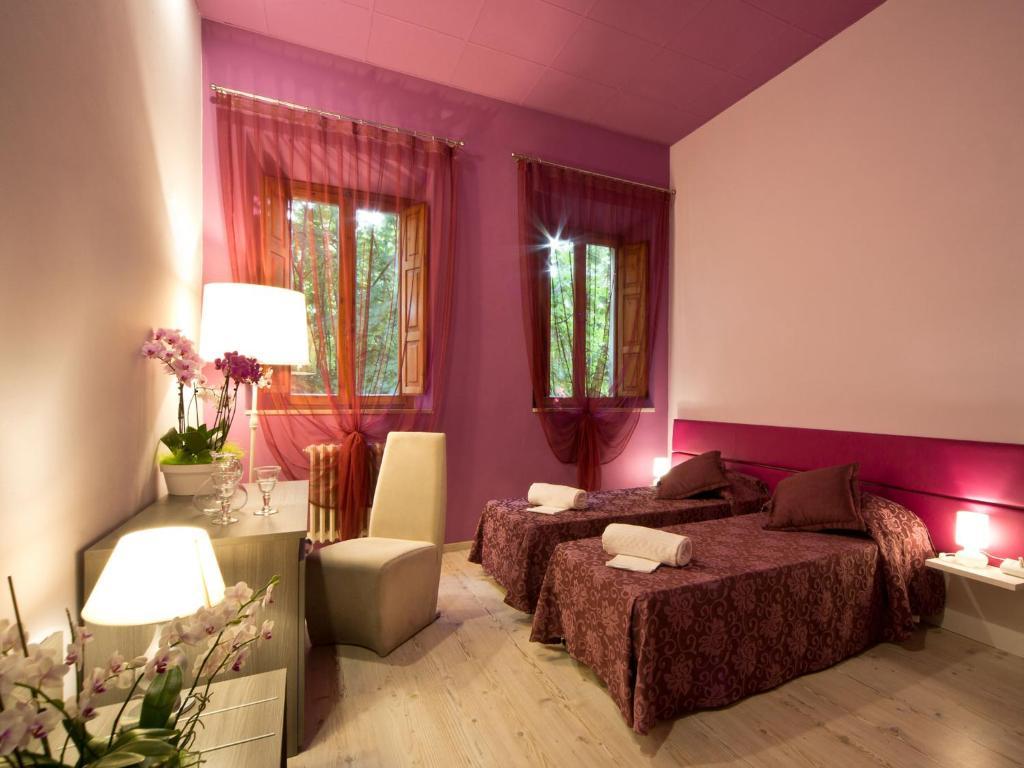 camere hotel palazzo renieri colle val d'elsa